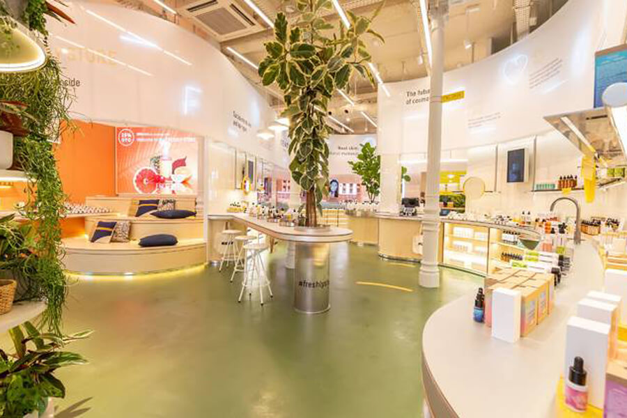Quadrature | Portfolio | Freshly Store Madrid
